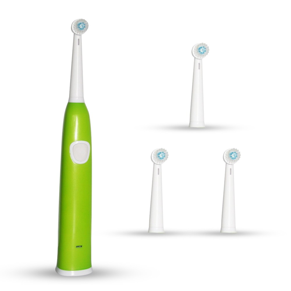 home use adult bristle type rotating electric toothbrush from China factory