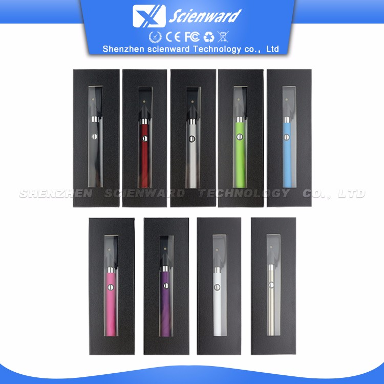 slim batterie ecig 510 thread buttonless vaporizer pen battery 350mah with usb charger