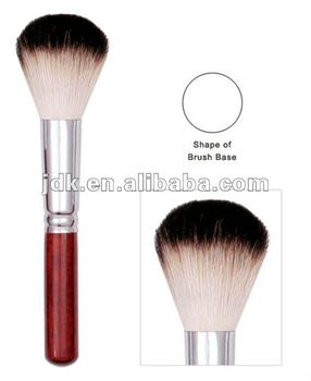 Duo colour goat hair powder brush