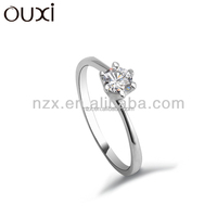 OUXI Fashion 925 sterling silver wedding ring for wholesale Y70003