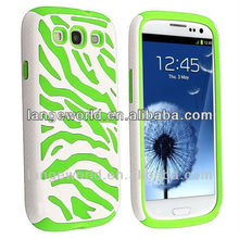 C&T zebra printing HARD Cover for samsung i9300 galaxy s iii