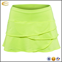 2017 NEW High Quality Custom Logo Wholesale Womens Tennis Training Skirts