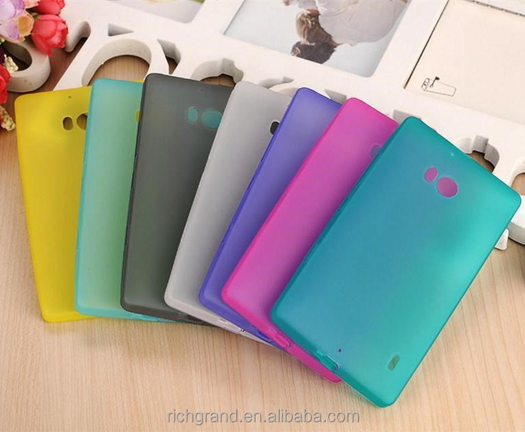 Ultra Thin Matte Back Cover With Earphone Jack Dust Plug Soft TPU Case For Nokia Lumia 930