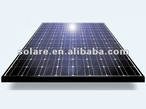 Mono PV solar panel 390W for solar power system