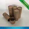Brown kraft paper custom printing pencils tube with lid