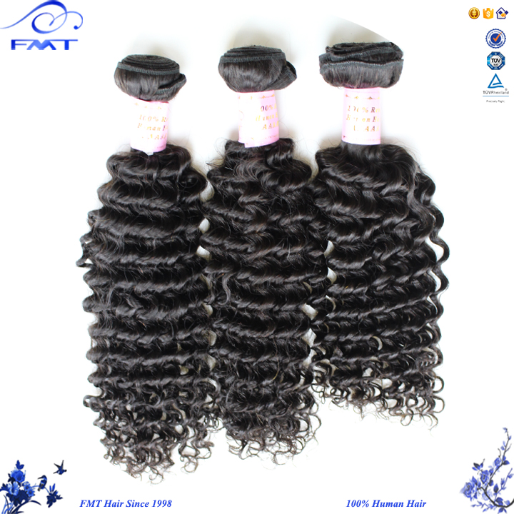 FMT Full Cuticle Dyeable 8-32 Inch Deep Weft Hair Extension, 6A Chinese Remy Aliexpress Hair