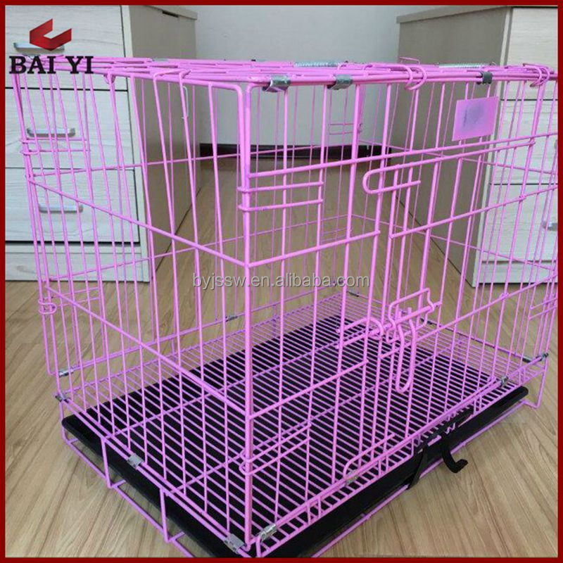 Heavy Duty Puppy Large Iron Crate Dog Pet House