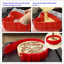 Factory supply DIY all cakes all shape silicone cake mold silicone bake snake