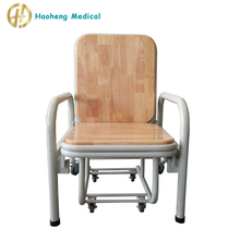 Multi-functional Stainless Steel Medical hospital recliner chair bed/hospital waiting chair