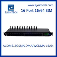 Voip Equipment gsm voip Ejoin 16 port 64 sim GSM voip gateway goip 8 ports