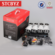 Hot selling security system waterproof ahd dvr cctv kit 4 cameras