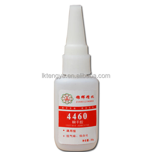 No bleaching instant adhesive 460 quality,Low odor instant glue 460