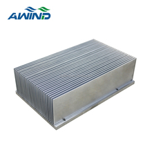 aluminum skive fin heat sink, manufacturer with high density