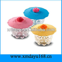 Hottest Flower Silicon Pot Lid Silicone Material Pot Cover Lid