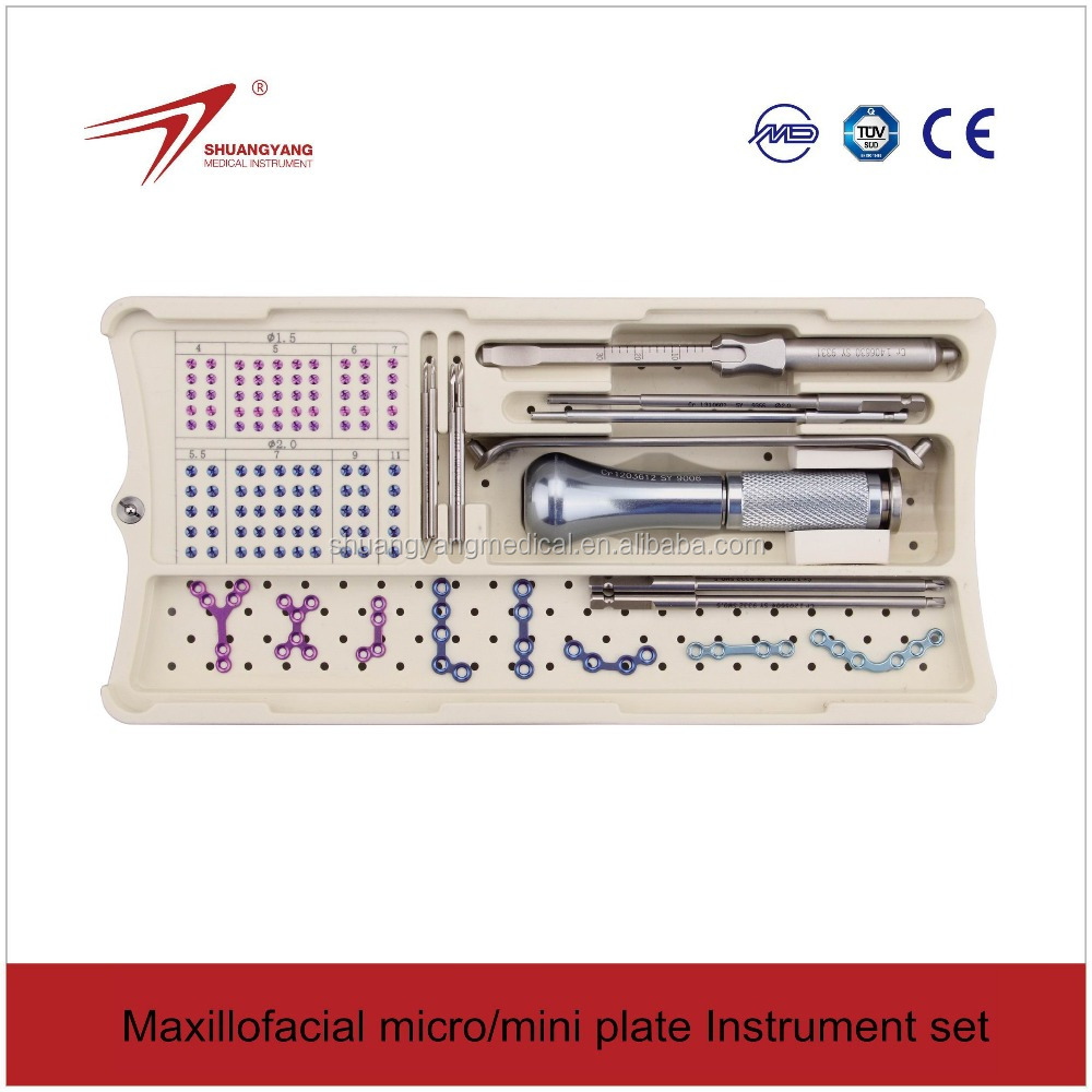 Names of surgical instruments-Maxillofacial surgical instruments competitive prices (autoclave)