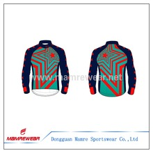 new Custom sublimation Windproof and Waterproof cycling bike Jacket ,reliable factory sublimation jacket