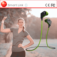 stylish unique fashion color cute wireless sport stereo earphone for girls