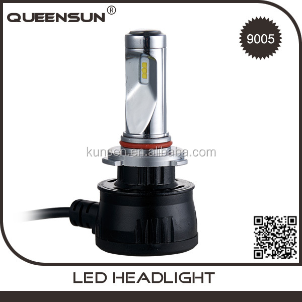 New design 9005 9006 40W 4000LM led headlight for motorcycle