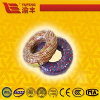 PVC Insulated 2*0.75mm 2*1mm Copper Electric Twist Wire