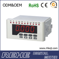 2014 newest electrical and electronics measuring instruments digital power factor meter