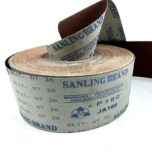 Handmade sanding cloth abrasive cloth roll for hand polishing