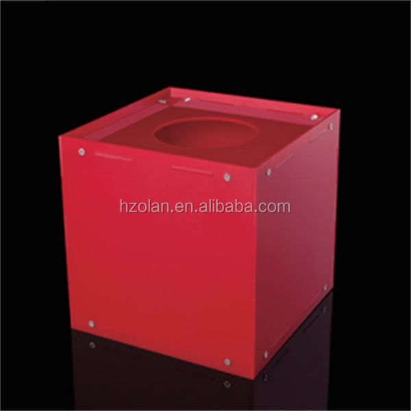 Good Quality Clear Acrylic Suggestion Box/Ballot Box /Lottery Box