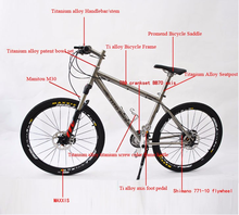 Fatboy titanium Fat Bike frame Mountain Bike/20 inch Colored Fat Boy Bmx Bike/Fat Bike rim
