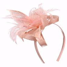 Hot selling Sinamay Cute Hairbands <strong>headbands</strong> for Girls