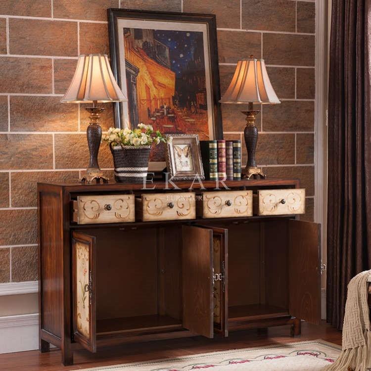 Buffet Decoratie Sideboards 4 Lade 4 Deur Dressoir Kast Woonkamer ...