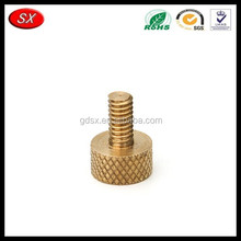 trade assurance supplier custom OEM binding threaded post screw, brass/stainless steel anodized screw made in China
