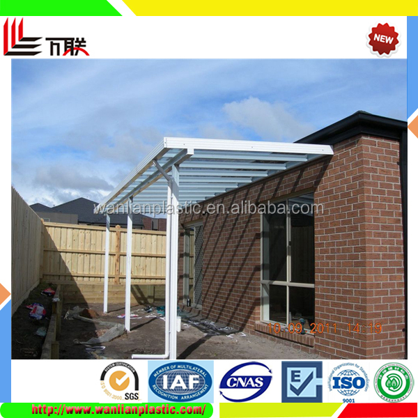 Polycarbonate building material insulate plastic roll roof