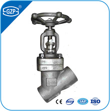 Forged Steel Stainless Wye Why Y Type Globe Valves