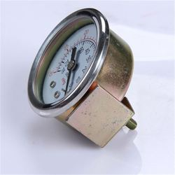Industrial Durable Light Weight Easy To Read Clear Bourdon Tube Pressure Gauge