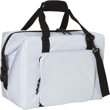 White Travel Marine Ultra 36 Can Snap Down Cooler Bag
