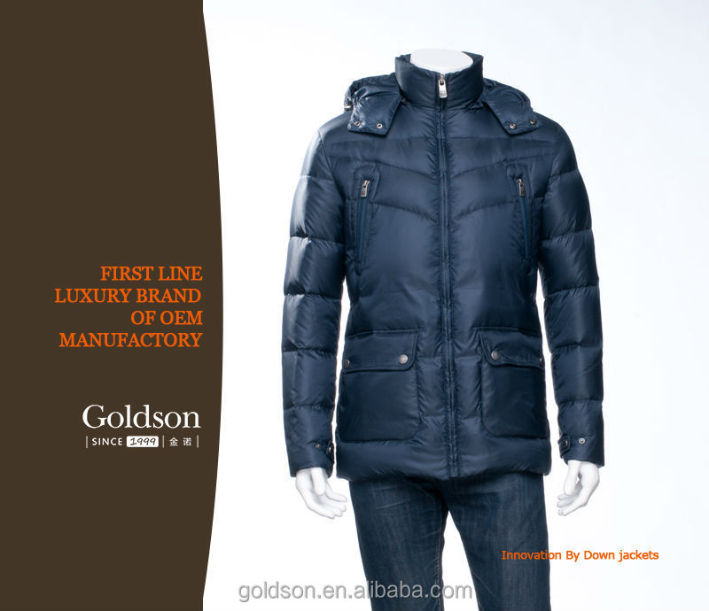 2016 Fahionable Italy Design Men's Winter Goose Jacket