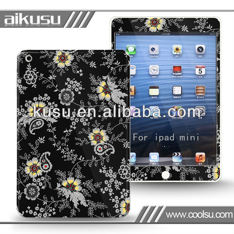 Fashion design tablet pc screen guard for iPad mini