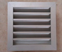 Ventilation hvac return aluminum air louver grilles filter vent