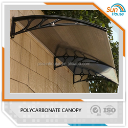 canopy roof Door canopy Polycarbonate awning 100kg support
