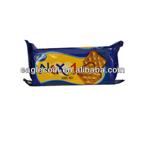 Soda Biscuits!!! Guangzhou Jessica Food Manufacter Snack Biscuits OEM Salty Cream Soda Cracker Biscuits