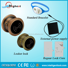 New Style European standard Smart electronic combination metal locker lock for golf course