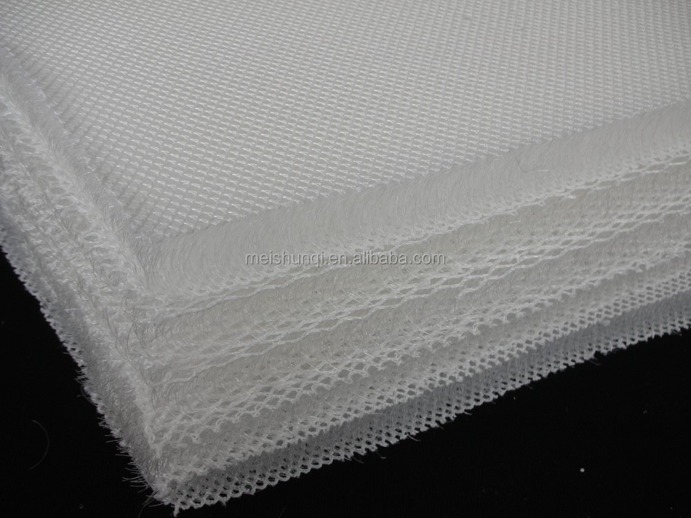 3d air mesh fabric for mattress or sofa filling/mesh fan cover