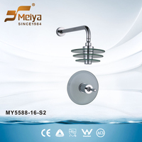 Single Handle Concealed Bath Surface Mounted Mixer Shower MY5588-16-S2