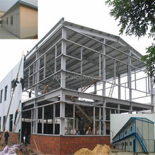 light steel structure prefabricated houses luxury