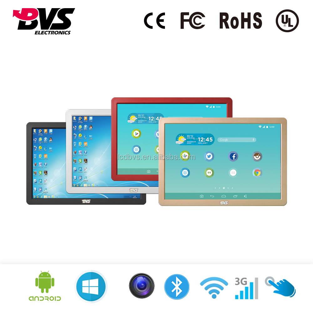 16 19 21 32 42 inch Wall Mounted Intel Core i5 computer lcd touch screen all in one pc