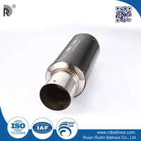 Raw marerial stainless steel car muffler for engine, small engine
