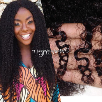 2016 Tight Kinky Curly Virgin Human Hair extensions