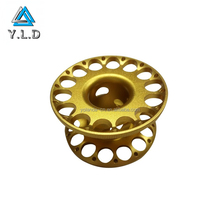 OEM High Precision Color Anodized CNC Machined Aluminum Wheel