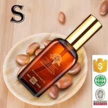 Cosmetics make your own brand nature argan oil for hair wholesale
