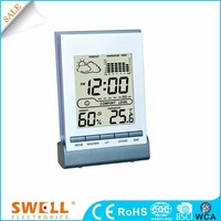 Analog table alarm clock with timer , table calendar clock and frame