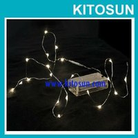 Battery operated Micro LED string light for window curtain decoration